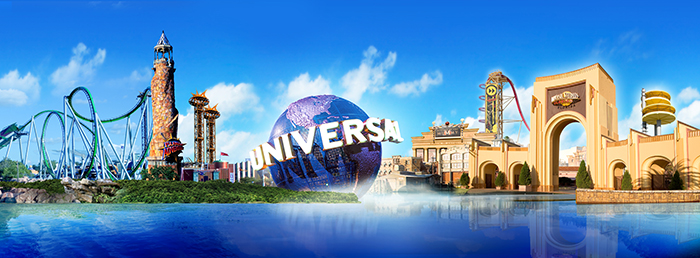 Парк развлечений «Юниверсал Студиос Флорида» в Орландо, США