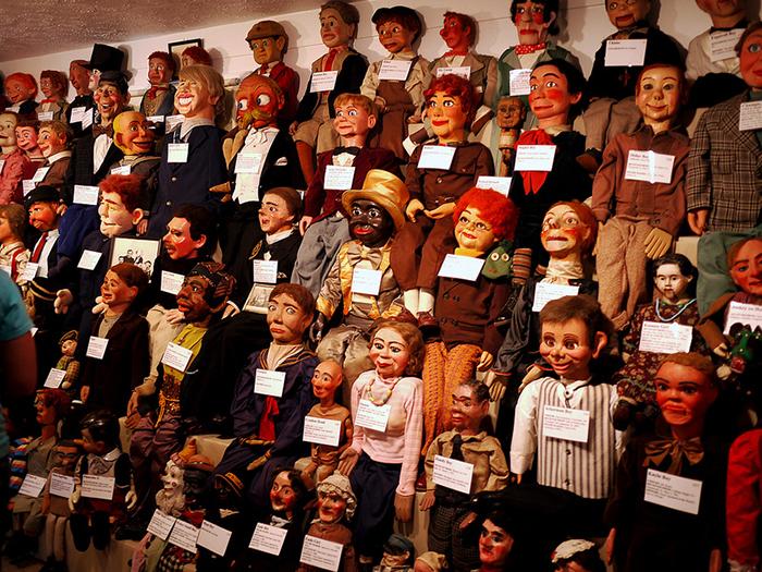 Музей чревовещателей в Форт Митчелле, США