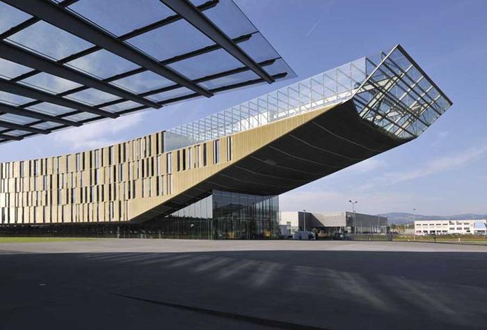 Офис компании Voest Steelworks в Линце