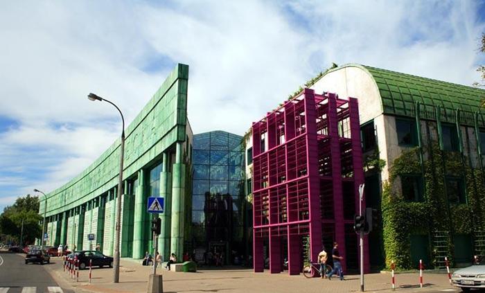 Библиотека университета в Варшаве
