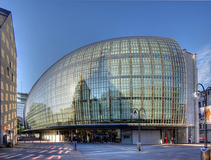 Торгово-развлекательный комплекс Welstadthaus в Кёльне, Германия