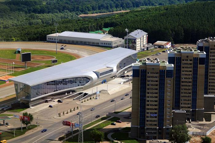 Ипподром «Акбузат» с высоты птичьего полета