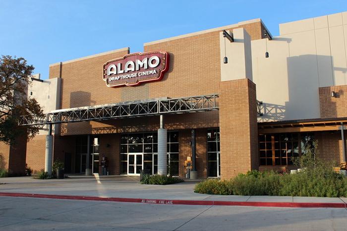 Кинотеатр Alamo Drafthouse в городе Остин