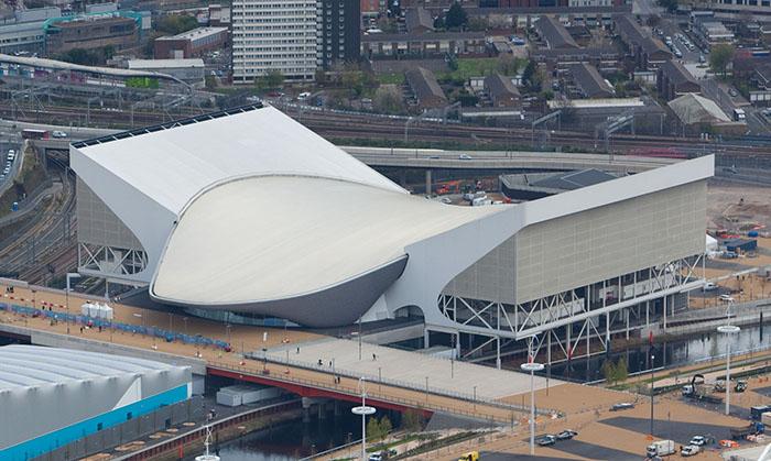 Центр водных видов спорта в Лондоне