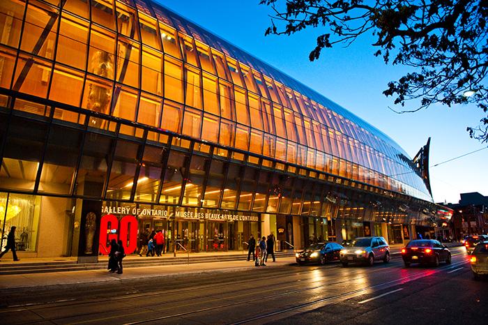 Реконструкция художественной галереи Онтарио