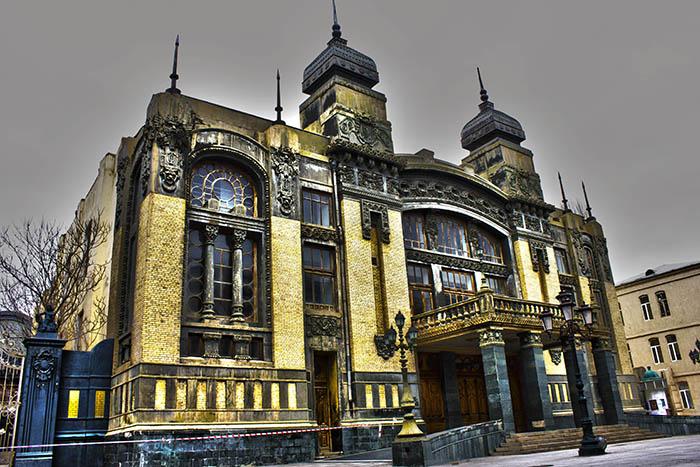 Opera and Ballet Theatre, em Baku, Azerbaijão