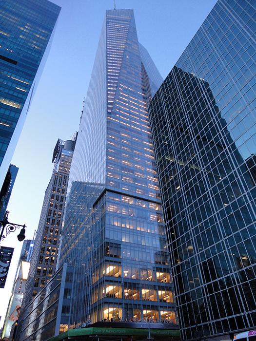 Банк Америки в Нью-Йорку