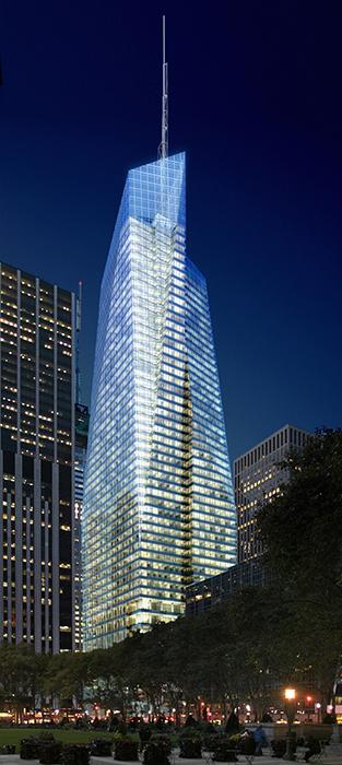 Башня Банка Америки на шестой авеню