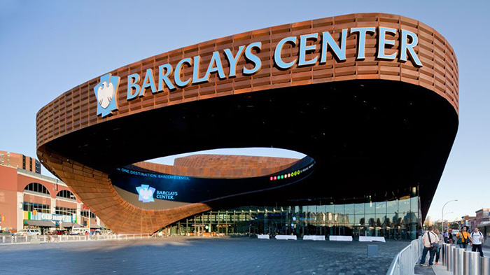 Барклайс-Центр в Нью Йорке