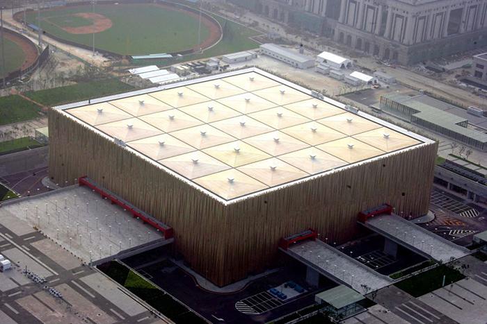 Олимпийский баскетбольный дворец