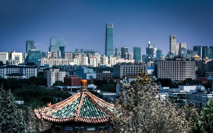 Панорама Пекина