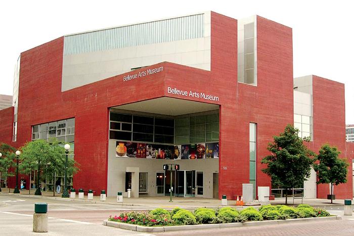 Художественный музей Бельвью в Сиэтле, США