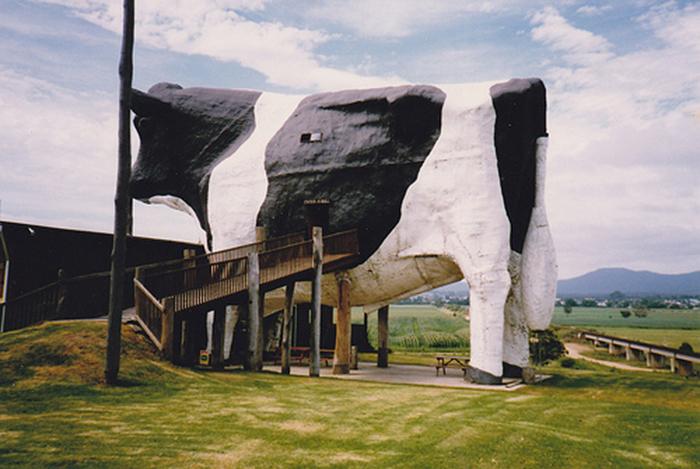 Магазин «Большой бык» в Уоучопе, Австралия