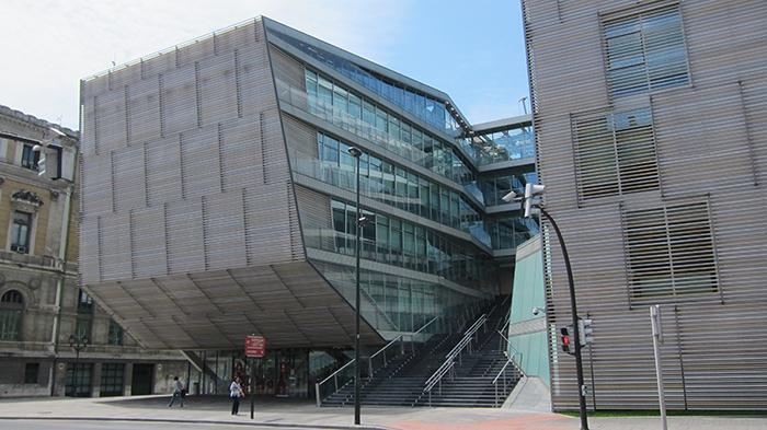 """Вилла """"Здание городского муниципалитета в Бильбао"""