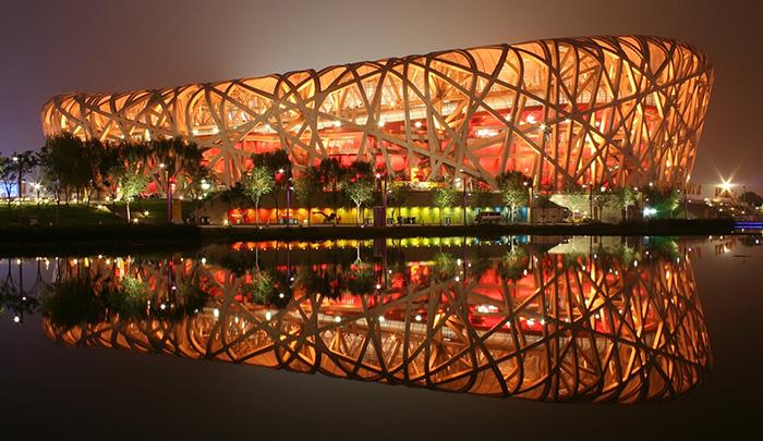 'Птичье гнездо' в Пекине