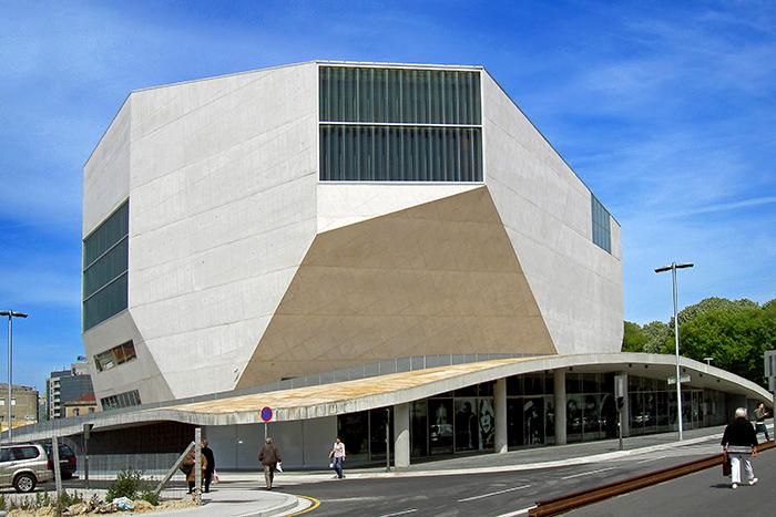 Концертный зал 'Дом музыки' в Порту, Португалия