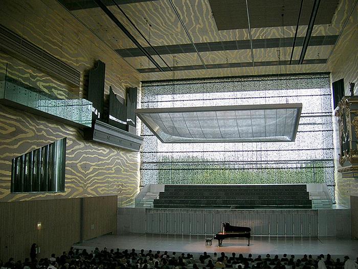 Концертный зал 'Дом музыки' в Порту: интерьер зала