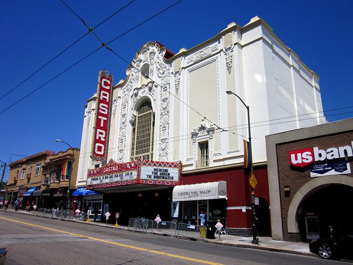 Кинотеатр Castro Theatre в Сан-Франциско