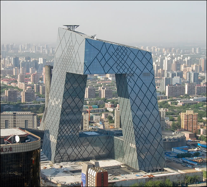 Штаб-квартира китайского центрального телевидения CCTV в Пекине