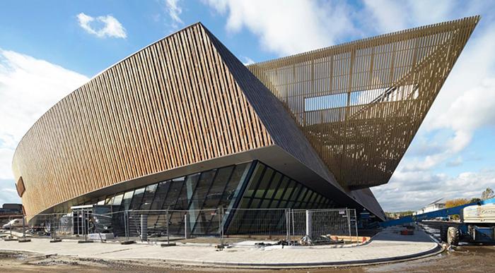 Международный конгресс-центр в Монсе, Бельгия