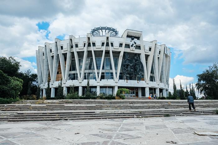 Государственный цирк в Кишиневе, Молдавия