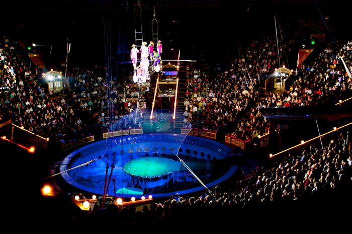 Казанский государственный цирк: интерьер зрительного зала