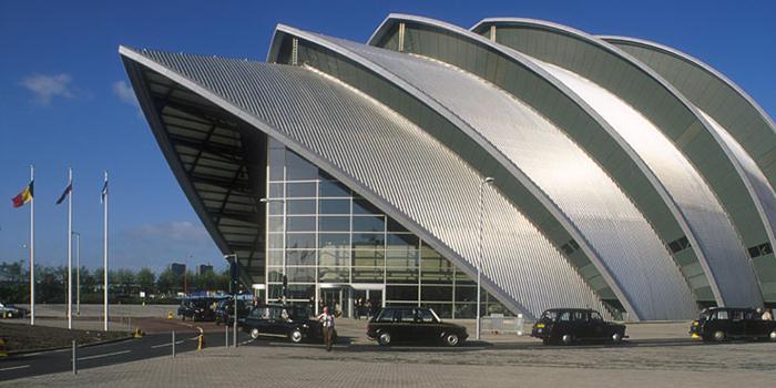 Конференц-зал Клайд Аудиториум в Глазго