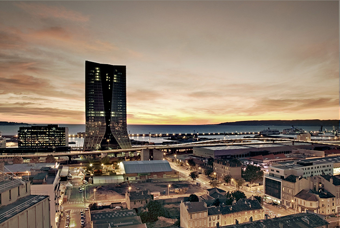 Небоскреб CMA CGM Tower в Марселе