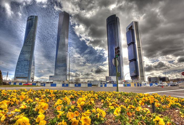 Деловой комплекс '4 башни' в Мадриде