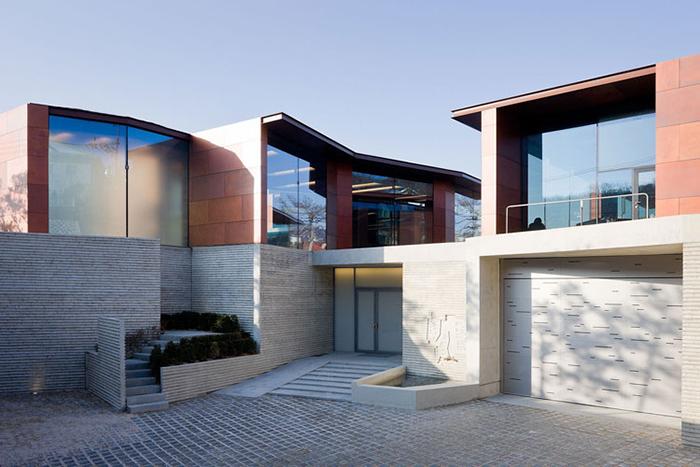 Дом и художественная галерея «Тэян» в Сеуле, Южная Корея