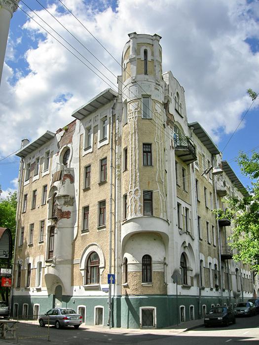 Доходный дом Н.Г. Тарховой на Подсосенском переулке