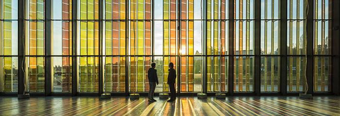 Конференц-центр в Экюблане, Швейцария: интерьер помещения