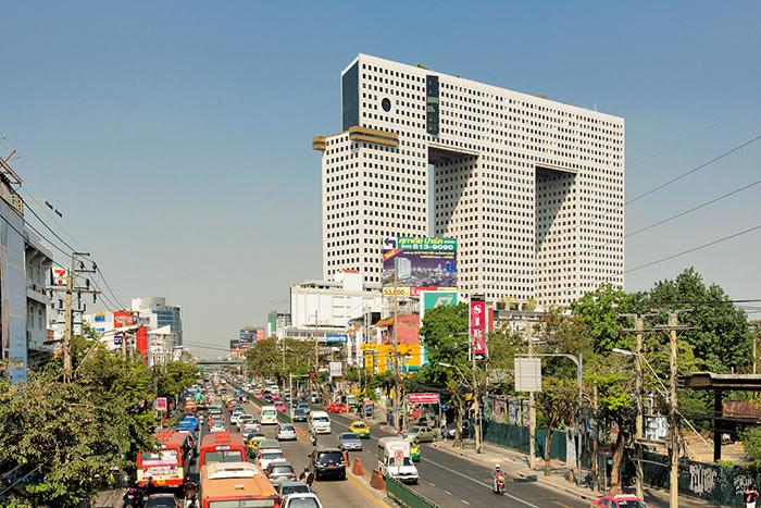 Небоскреб в форме слона в Бангкоке, Тайланд