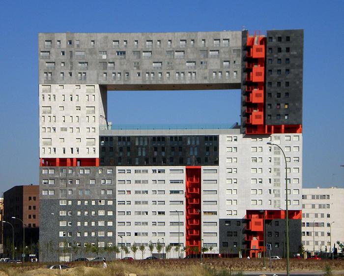 Жилой комплекс Edificio Mirador в Мадриде