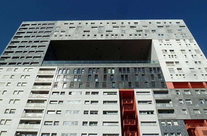Жилой комплекс Edificio Mirador: главный фасад