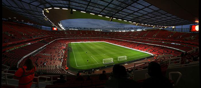 Стадион Эмирейтс в Лондоне