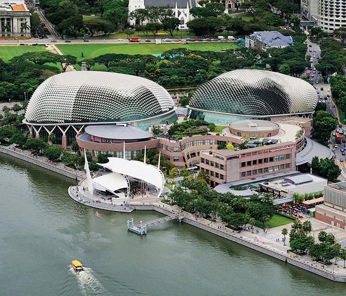 Teatro 'Esplanade' em Cingapura