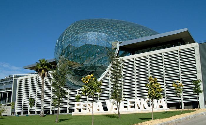 Выставочный комплекс Feria Valencia в Валенсии, Испания