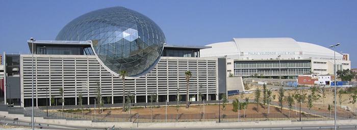 Выставочный комплекс Feria Valencia в Валенсии