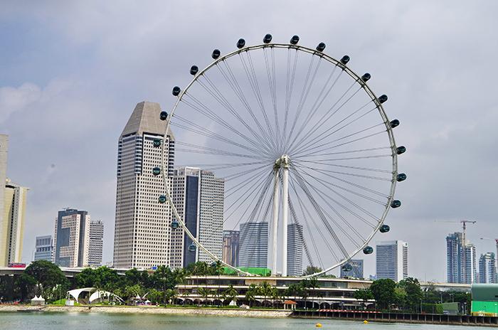 Колесо обозрения «Сингапур Флаер»