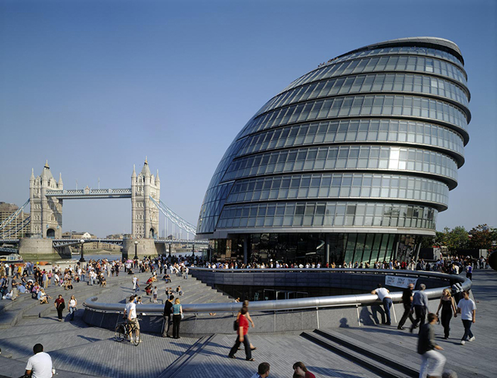 Сити-холл Резиденция городской Администрации «Сити-холл» в Лондоне, Великобритания