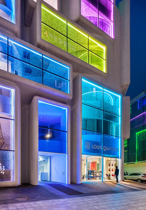 Торговый центр в стиле Гангнам-стайл в Сеуле