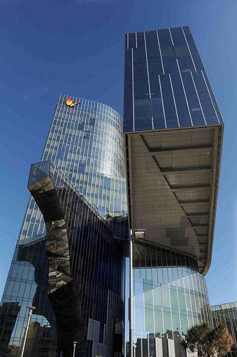 Штаб-квартира компании по переработке природного газа Gas Natural в Барселоне