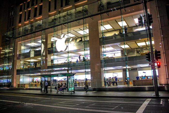Магазин Apple на Джордж Стрит в Сиднее