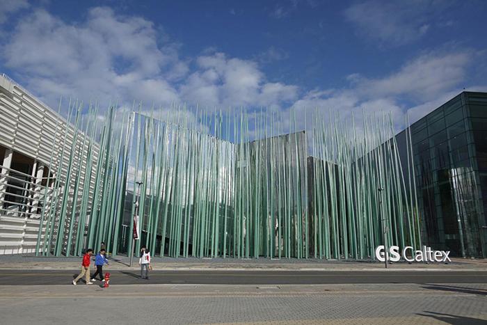 Павильон нефтяной компании GS Caltex для международной выставки Экспо-2012 в Йосу
