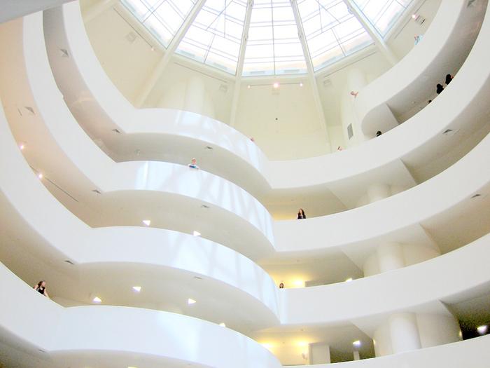 Музей Гугенхайма: интерьер