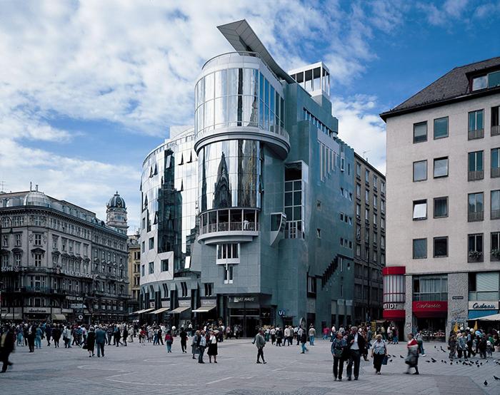 Торговый комплекс «Хаас Хаус» в Вене