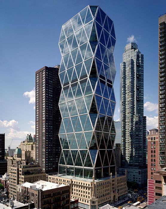 Башня Hearst Tower на Манхэттене