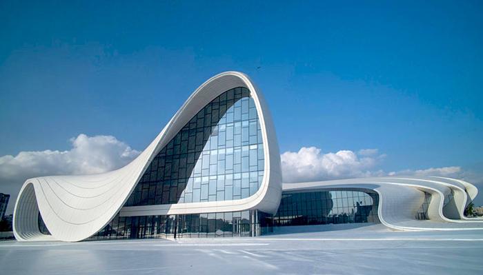 Культурный центр Гейдара Алиева в Баку