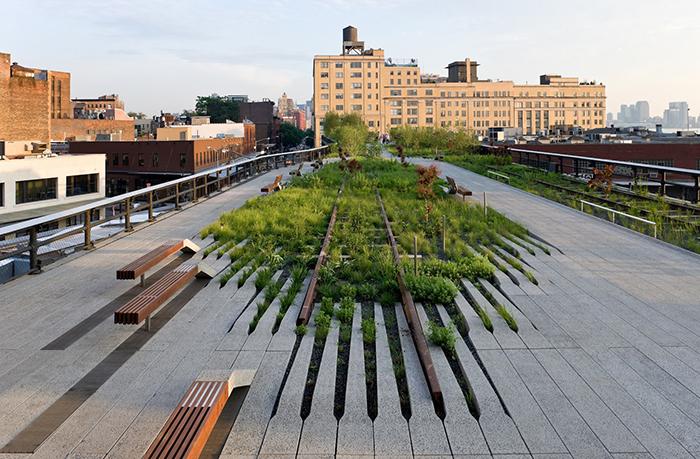 Парк Хай-Лайн на Манхеттені